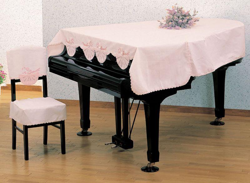 画像1: グランドピアノカバー・人形レース(旧カタログ品) (1)